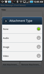 android new message attachment type